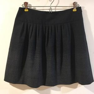 Theory ombre wool mini skirt sz6